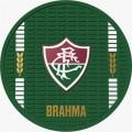 CONJ. C/4 BOLACHAS DE BORRACHA-SUPORTE P/COPOS FLUMINENSE-BRAHMA
