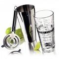 BAR MIX JG SHAKER C/3 P/PREPARAÇÃO DE DRINK P/BAR