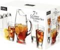 CLASSIC JG para refresco sete peças seis copos 532 ml e uma jarra com 2,6 litros